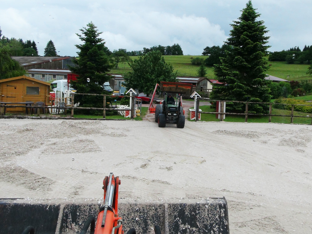 Rénovation sable fibré
